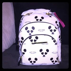 Betsey Johnson Panda Backpack